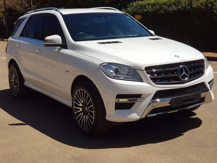 Mercedes-Benz ML350 Bluetech 2012